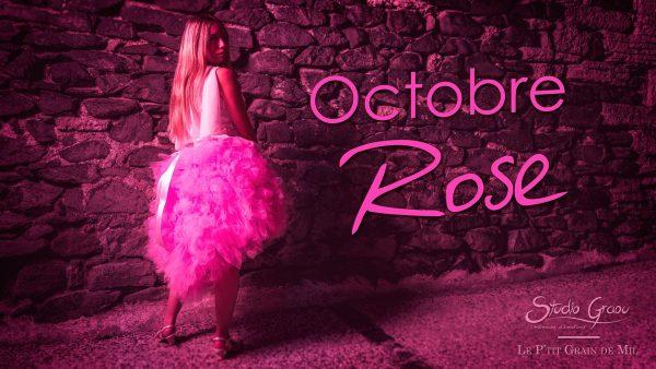robe tutu mouchoirs de tulle femme rose octobre rose