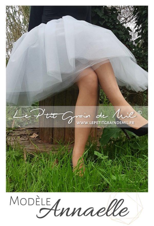jupe tutu en tulle ultra volume femme mariage cérémonie