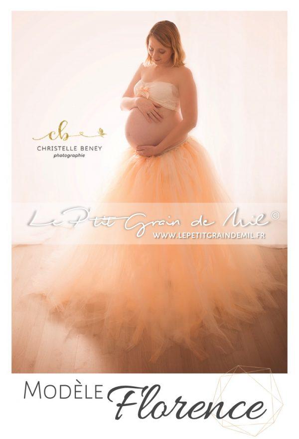 jupe tutu femme enceinte jupe en tulle grossesse séance shooting photo