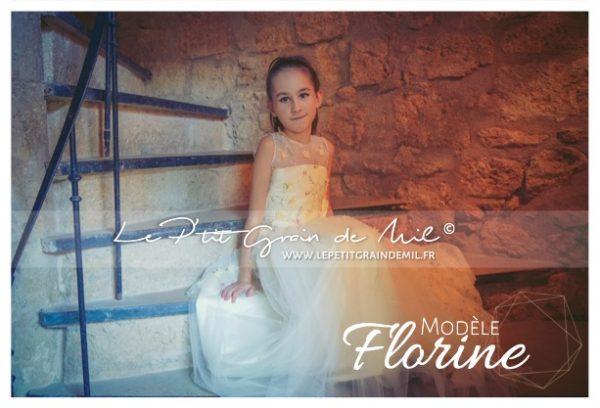 robe de cérémonie fille 8 10 12 14 ans créateur made in france