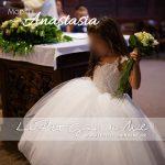 robe de princesse fille mariage enfant petite fille d'honneur