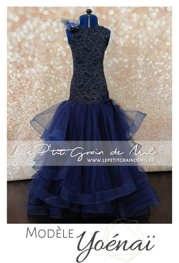 robe sirene cérémonie fille mariage demoiselle d'honneur