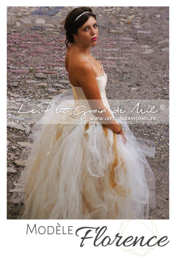 robe tutu en tulle volume bustier femme princesse cérémonie mariage mère fille adulte grossesse séance shooting photo photographe