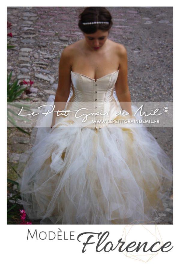 robe tutu femme bustier princesse cérémonie mariage mère fille adulte grossesse séance shooting photo photographe