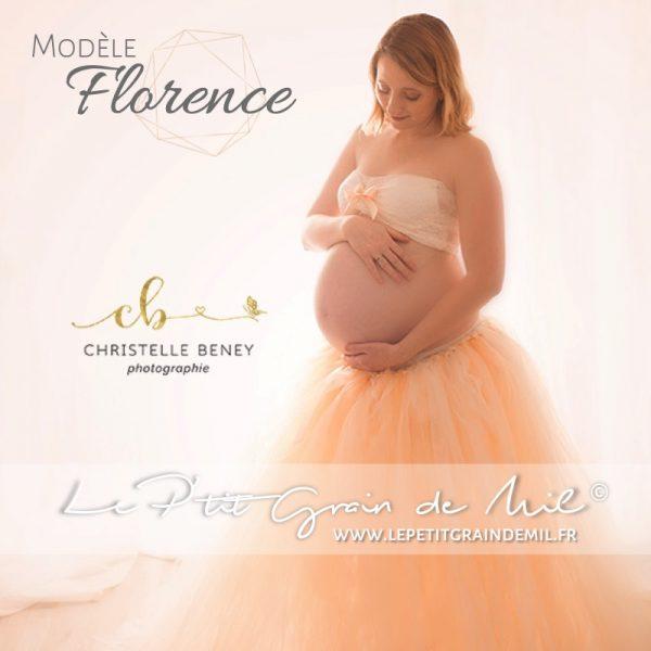 tutu femme enceinte jupe en tulle grossesse séance shooting photo