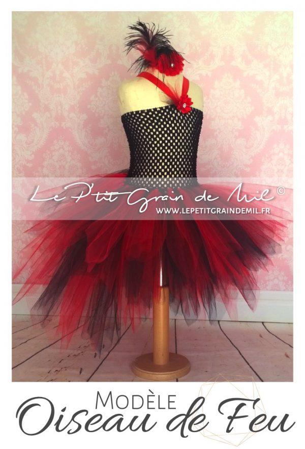 costume déguisement cabaret moulin rouge rouge et noir