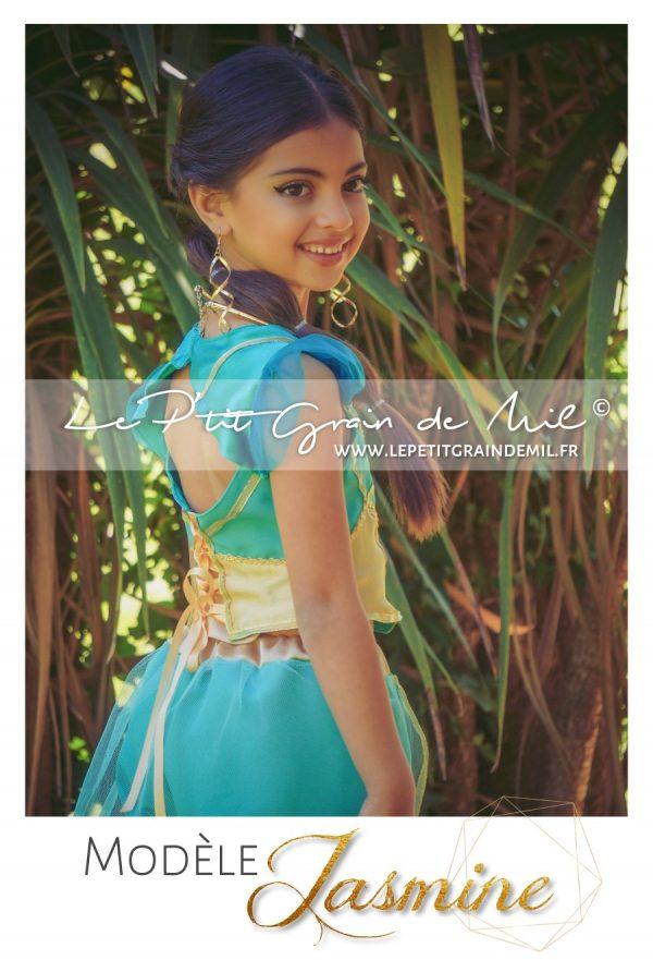 costume déguisement princesse jasmine aladdin disney film 2019