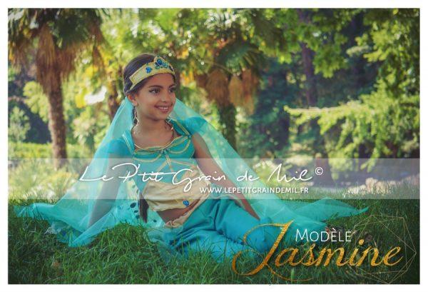 costume jasmine aladdin le film 2019 enfant