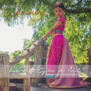 déguisement jamine rose fille femme aladdin disney 2019 costume