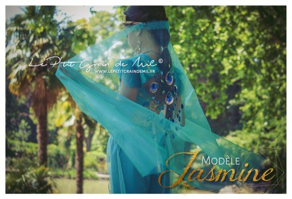 déguisement princesse jasmine aladdin le filme 2019 enfant femme