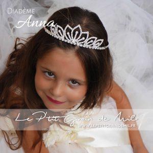 diadème de princesse reine des neiges enfant fille bijoux