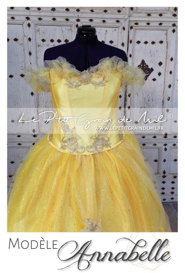 robe de mariée disney belle la belle et la bête mariage princesse disney robe luxe mariage