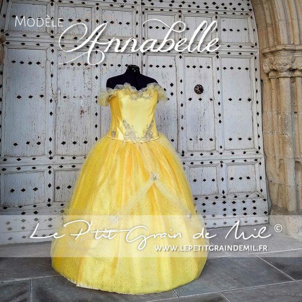 robe tutu belle déguisement de princesse belle disney robe tutu princesse belle et la bete