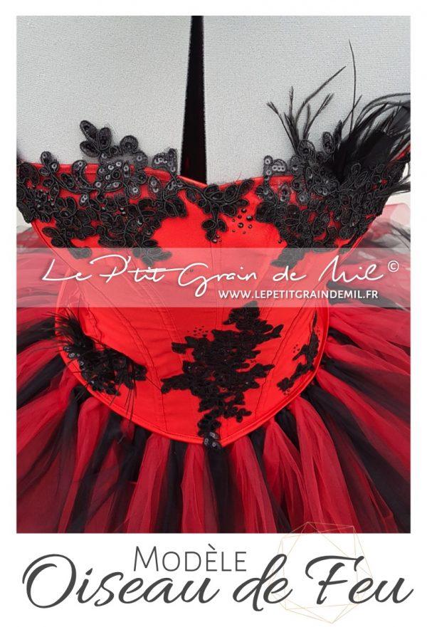 robe tutu déguisement costume cabaret moulin rouge femme