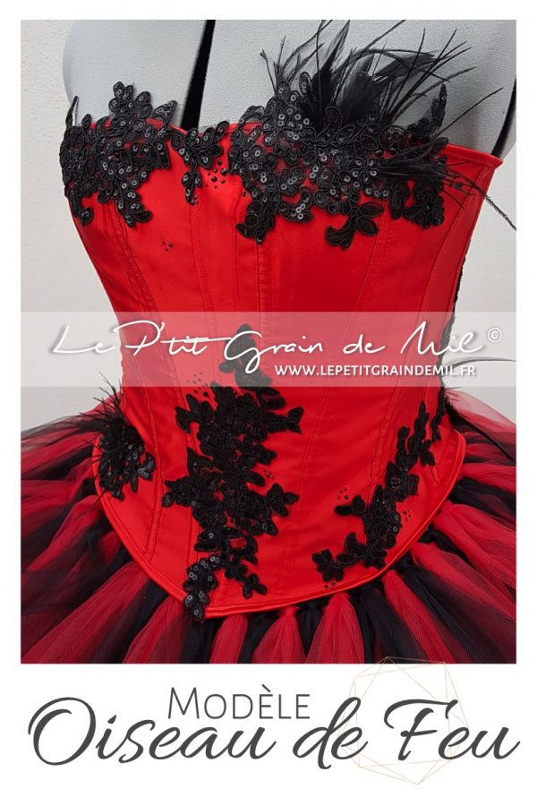 robe tutu femme costume cabaret moulin rouge femme