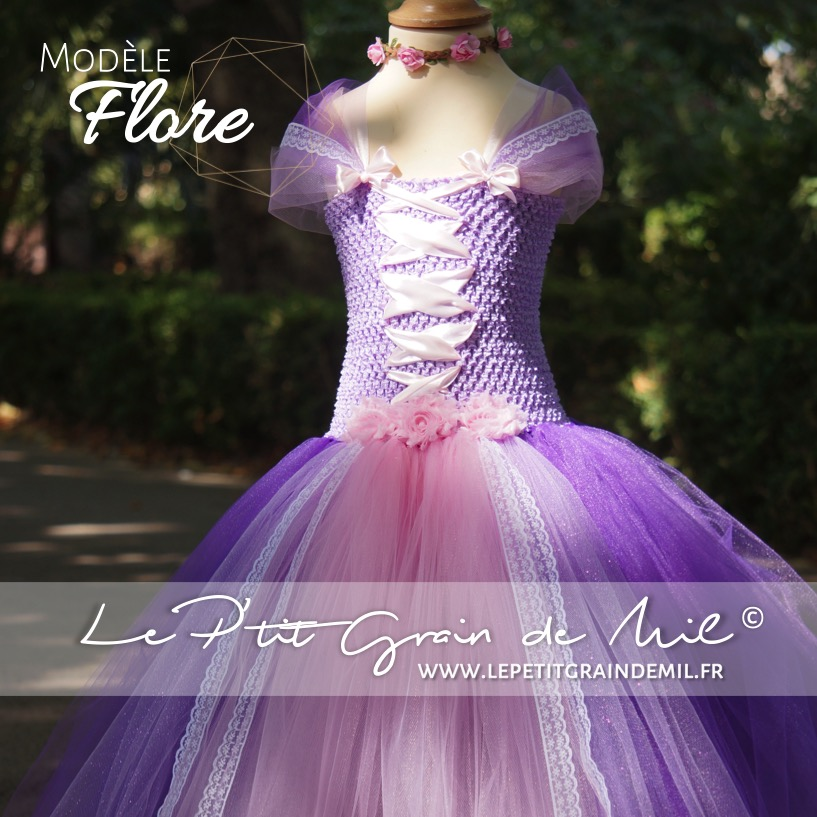 Princesse Rose De Robe Et VioletteFlore Tutu tQdxBCrsh