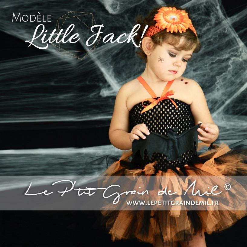 19b375bf673bf8 Robe Tutu Déguisement Halloween Original Bébé Enfant ☠TRICK or TREAT Little  Jack