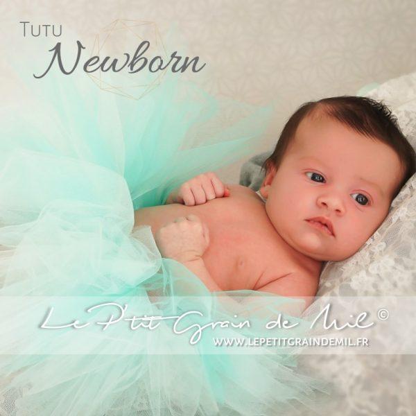 jupe tutu bébé naissance fille shooting séance photo nouveau né