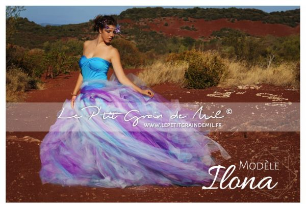 jupe tutu femme robe en tulle shooting photo salagou photographe