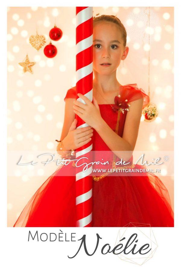 robe de noel fille robe tutu de mère noel robe pour noel rouge bordeaux et or