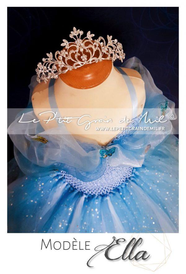 robe tutu de cendrillon 2015 le film déguisement costume petite fille