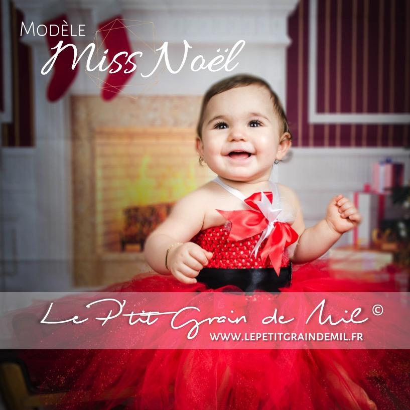 b1167f9d75430 robe tutu de noël bébé fille déguisement costume mère noel enfant en tulle