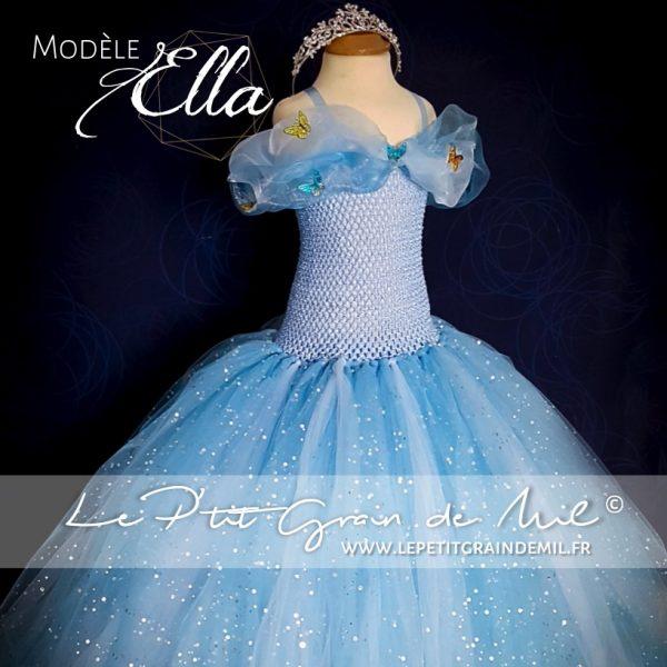 9bcabaed7b robe tutu de princesse cendrillon 2015 le film déguisement costume petite  fille