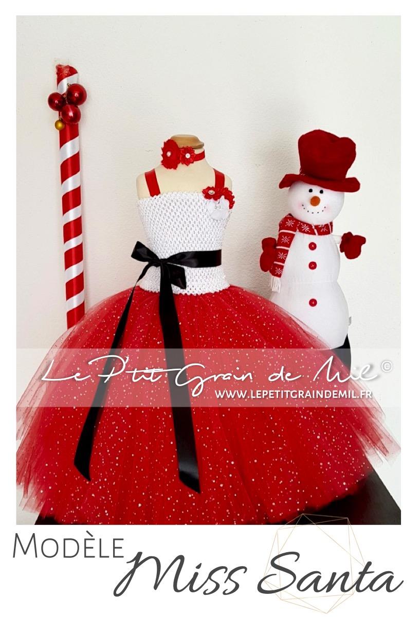 Image De Noel Fille.Robe Tutu Fille Noel Deguisement Bebe Enfant Mere Noel Miss Santa