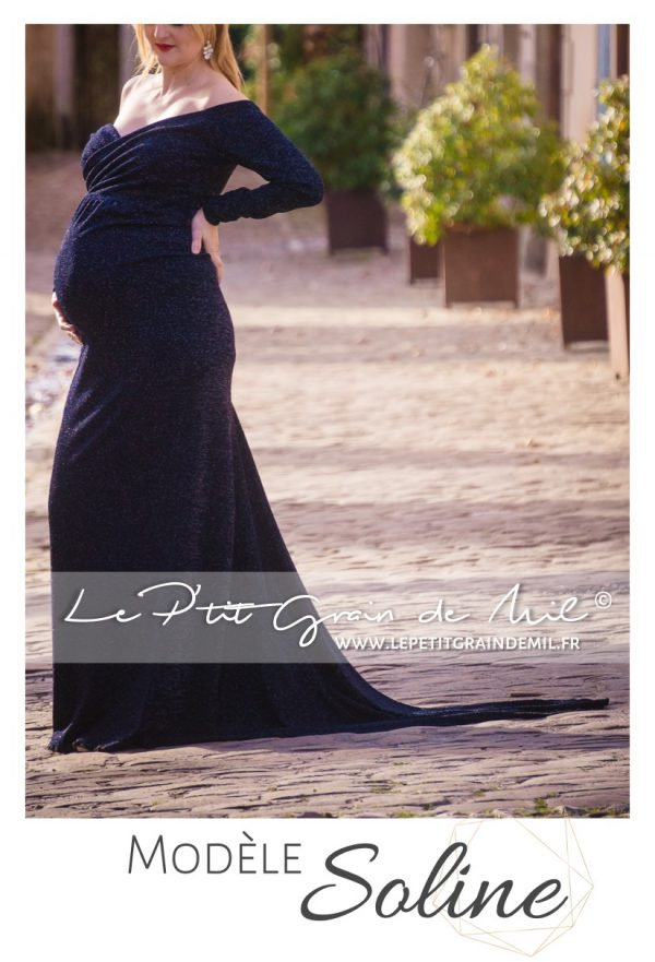 location robe de maternité soirée shooting photo