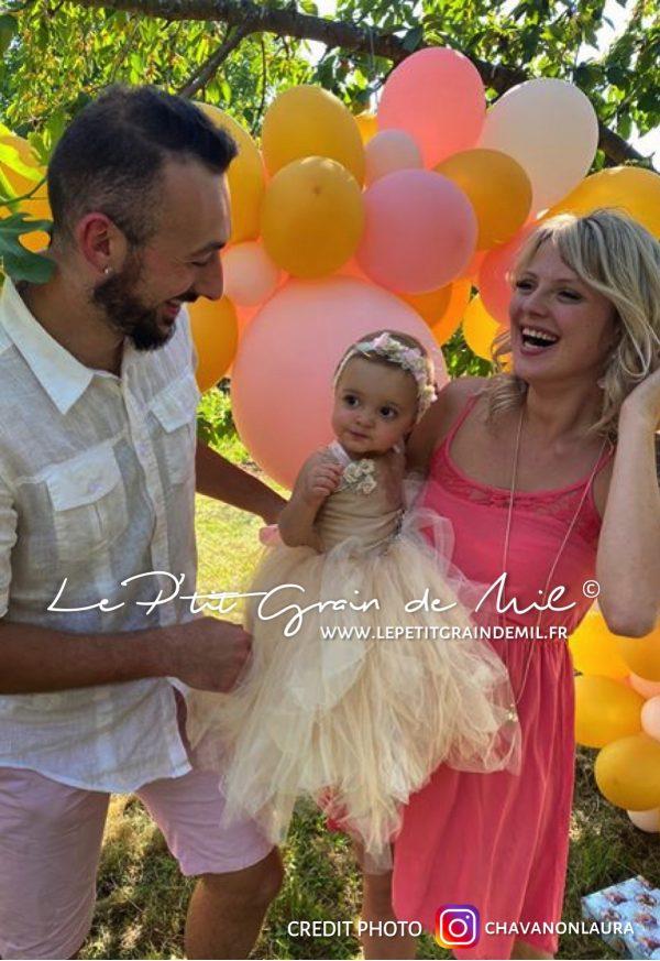 robe tutu de princesse en tulle pour anniversaire bébé 1 an premier anniversaire petite fille 2 ans 3 ans