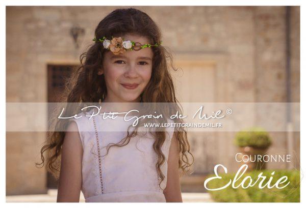 robe enfant mariage champêtre demoiselle d'honneur bohème boho chic