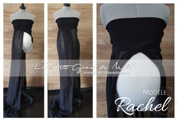 robe bandeau voile occasion maternité grossesse femme enceinte shooting photo