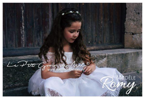 robe enfant cortège mariage boho champêtre bohème chic demoiselle d'honneur