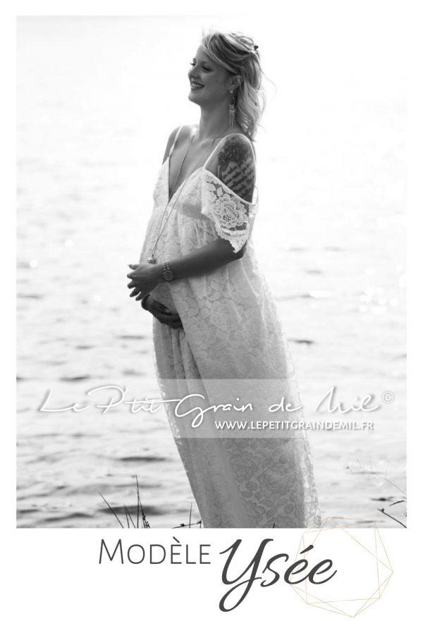 robe boheme maternité grossesse cérémonie mariage shooting photo