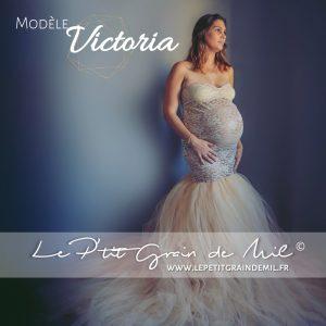 robe sirène de maternité dentelle tulle pour photo mariage femme enceinte shooting photo noël nouvel an