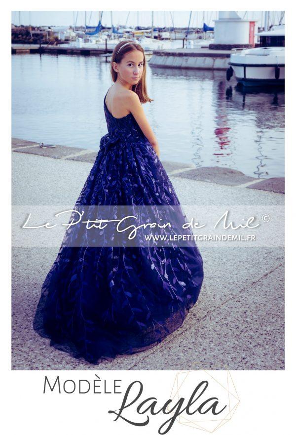 robe de cérémonie pour mariage enfant petite fille ado créateur luxe 10 12 14 ans